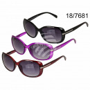 Sunglasses for women, 3-color assorted