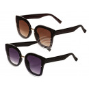 Sunglasses for women, 2-color assorted