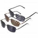 Sonnenbrille für Herren, 3-farbig sortiert, ZT2043