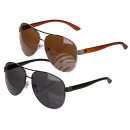 Sunglasses for men, two colors assorted