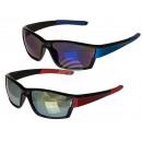 Großhandel Sonnenbrillen: Sonnenbrille Sports/Unisex, 2-farbig sortiert