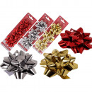Gift assorted , red / silver / gold assorted