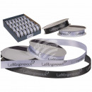 wholesale Small Parts & Accessories: Bow ribbon, favorite human, white & gray