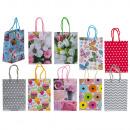 Paper gift bag III, 11,5 x 6 x 16 cm, 10-