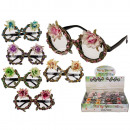 wholesale Glasses: Plastic glasses with flowers & stones