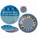 Paper plates, Oktoberfest, D: 23 cm, 2-way sort