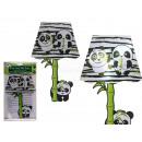 nagyker Faltetoválás: Műanyag fali matrica, panda lámpa, LED-del