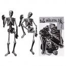 Scheletro di carta, Halloween, circa 135 cm