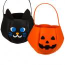Feltro sacchetto Halloween, circa 22 x 32 cm