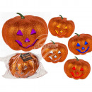 wholesale Other: Plastic pumpkin with glitter & color change