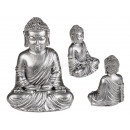 Polyresin figure, Buddha , about 14 x 11 cm