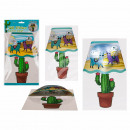 wholesale Wall Tattoos: Plastic wall stickers, llama & cactus lamp