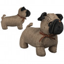 wholesale Business Equipment: Fabric door stop, dog, about 28 x 21 cm, about 1.4