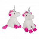 Fabric doorstopper, unicorn, 100% polyester