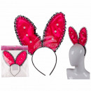 Plastic hairband bachelorette Bunny with pearl