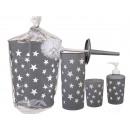 grossiste Meubles de salle de bains & accessoires: salle de bains gris fixé avec des étoiles blanches