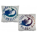 wholesale Cushions & Blankets: Creamy Pillows , Mermaid, with Reissversc