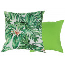 Pillows , leaves, 100% polyester , approx. 40 x 40