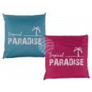 Outdoor Pillows , Tropical Paradise, 100% polyeste