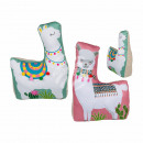 wholesale Small Furniture: Cloth doorstop, Lama, approx. 30 x 18 cm, approx.