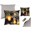 wholesale Cushions & Blankets: Pillows , Summerflair, with 3 LED & zipper,