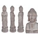 Standing Magnesia figure, Buddha , about 18.5 x 68