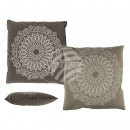 wholesale Cushions & Blankets: Pillows , Mandala, with Zipper, Cotton Canvas