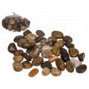 Naturalne kolorowe kamienie dekoracyjne, ok. 2-3 c