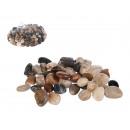 Natural coloured deco stones, ca. 8-12 mm, ca. 1 k