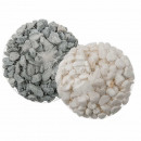 Decoration stones, gray & white assorted, appr