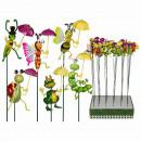 -Kunststoff  Gartenstecker,  Bewegliche Tiere ...