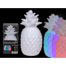 Plastic pineapple with color changing LED (incl. B