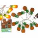grossiste Chaines de lumieres: Lumières, ananas, avec 10 LED