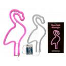 grossiste Batteries et piles: Lampe au néon rose, flamant rose, environ 29 x ...