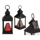 Plastic lantern, volcano, with 15 LED