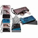 wholesale Mobile phone cases: Sequin mobile phone pocket with handle, 100% polye