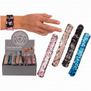 wholesale Jewelry & Watches: Sequin Snap Bracelet, approx. 23 cm