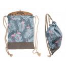 Grey Fashion Bag, Flamingo