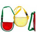 Kunststoff-Bauchtasche, Melone & Zitrone sortiert