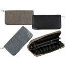 wholesale Wallets: Imitation leather wallet, approx. 19 x 10 cm