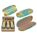 wholesale Glasses: Glasses case, world map, ca. 16 cm, plastic