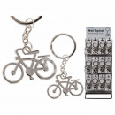 Metall-Schlüsselanhänger, Fahrrad, ca. 5 cm