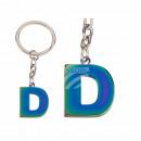 ingrosso Articoli da Regalo & Cartoleria: Portachiavi in metallo, Rainbow Letter D