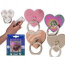 Metall-Fingerhalterung fürs Handy, Herz