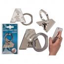 wholesale Computer & Telecommunications: Metal finger holder for Handy , letter A.