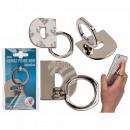 wholesale Computer & Telecommunications: Metal finger holder for Handy , letter D.