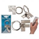 Metal finger holder for Handy , letter F