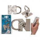 Metall-Fingerhalterung fürs Handy, Buchstabe N