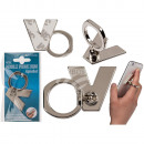 wholesale Computer & Telecommunications: Metal finger holder for Handy , letter V