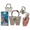 wholesale Mobile phones, Smartphones & Accessories: Metal finger holder for Handy , letter W